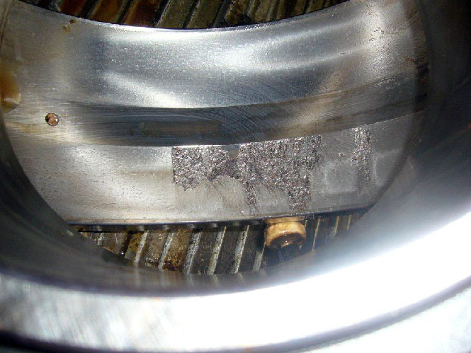 Revelation of the bearing damage in the paper mill dif for Vfd motor bearing failure